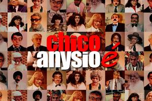 <em>Chico Anysio é</em>, letreiros de vídeo | Mapa Filmes
