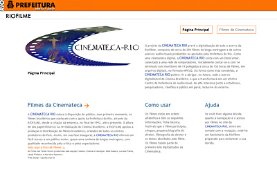 Cinemateca Digital | Riofilme Distribuidora