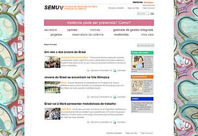 Secretaria de Valorização da Vida e Prevenção Violência/ Nova Iguaçu