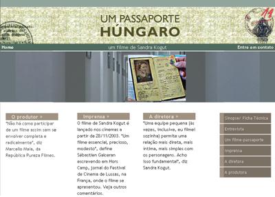 Filme <em>Um passaporte húngaro</em>