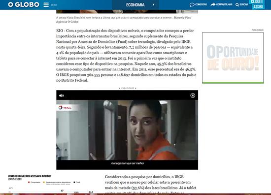 Anúncios em vídeo