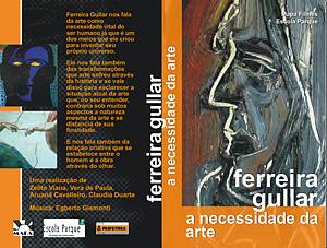 <em>Ferreira Gullar, a necessidade da arte</em>, capa de vídeo e DVD | Mapa Filmes
