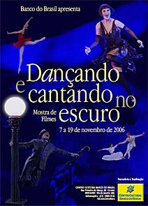 <em>Dançando no escuro</em> - cartaz para mostra de vídeo | Polytheama Vídeo