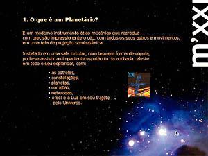 Planetário de Macaé, apresentação de projeto
